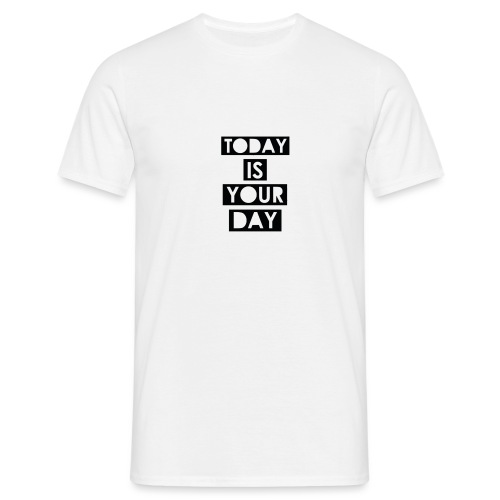 Official Design Kompas Today is your day - Mannen T-shirt