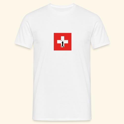 Kreuz Hornusser png - Männer T-Shirt