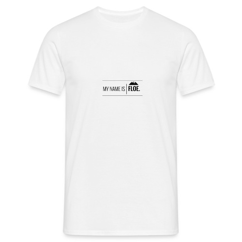 My name is FLOE. - Mannen T-shirt