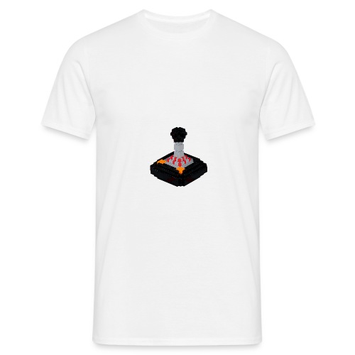 8 bit trip Tac 2 Joystick - Men's T-Shirt