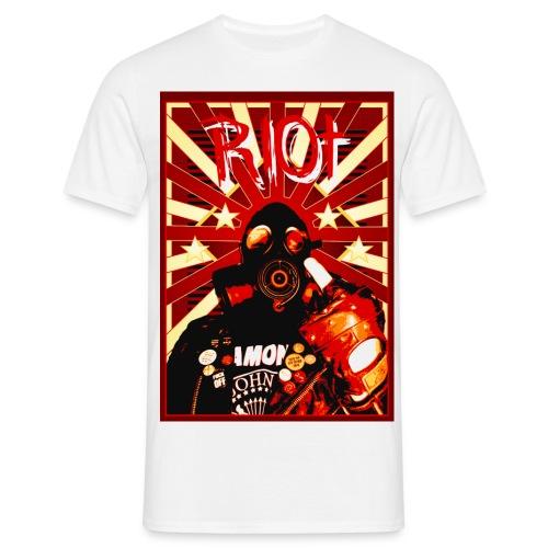 Poster Riot jpg - Männer T-Shirt