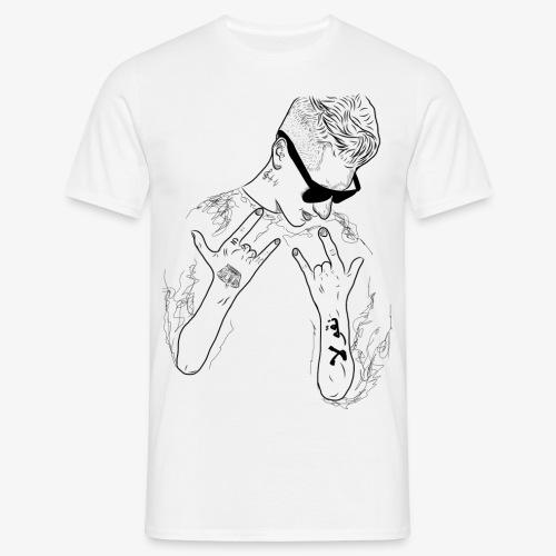 Rappresent Motiv Schwarz - Männer T-Shirt