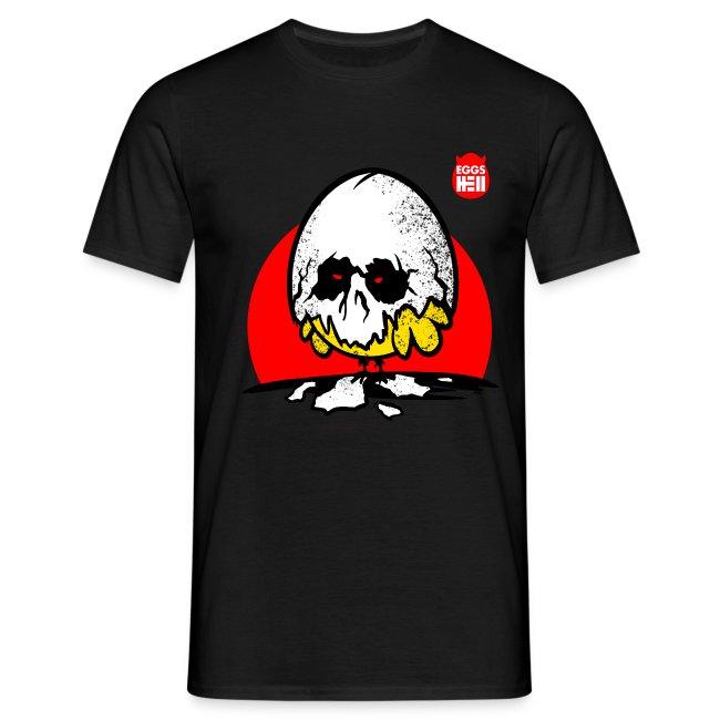 Eggshell skull - easter egg