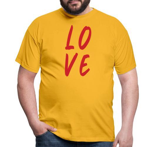 love - Maglietta da uomo