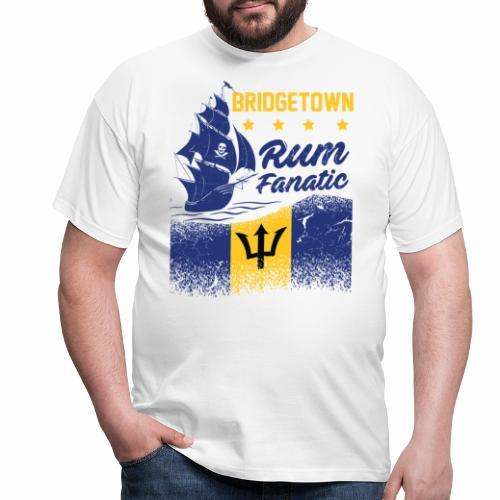 T-shirt Rum Fanatic - Bridgetown - Barbados - Koszulka męska
