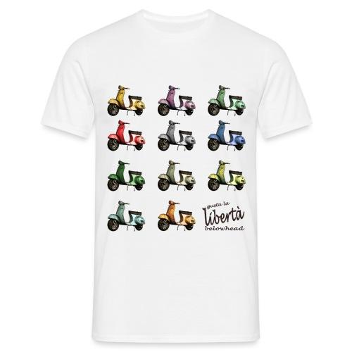 ♂ BIO-SHIRT: gusta la libertà - Männer T-Shirt