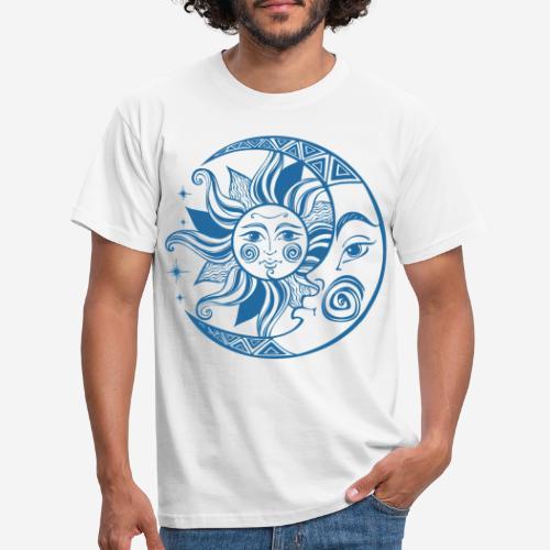 Sonnenmond Astrologie - Männer T-Shirt