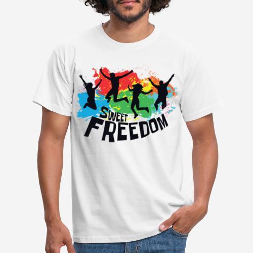 Freiheit frei - Männer T-Shirt
