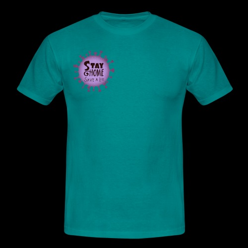 stay at home 3 - Men's T-Shirt