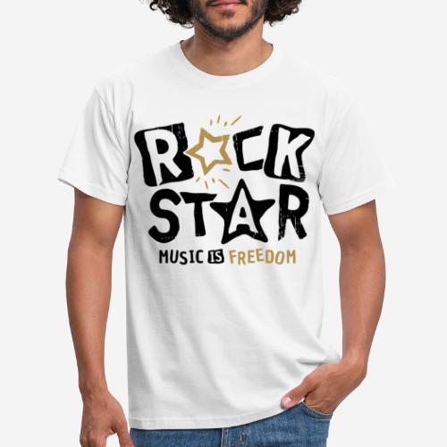 Musik Freiheit - Männer T-Shirt
