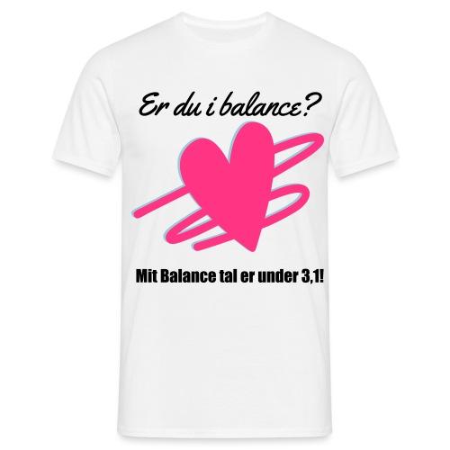 I Balance Design - Herre-T-shirt