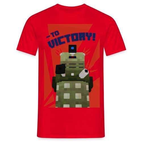 Dalek Mod - To Victory - Men's T-Shirt