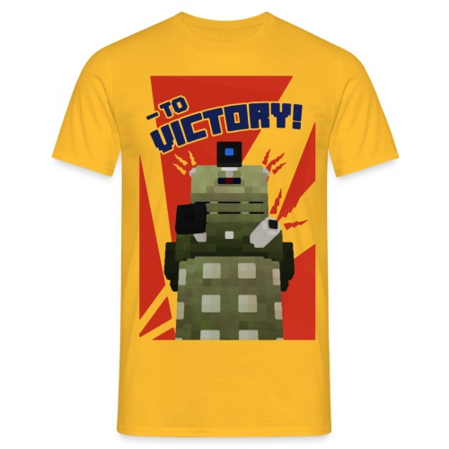 Dalek Mod - To Victory - Men's T-Shirt