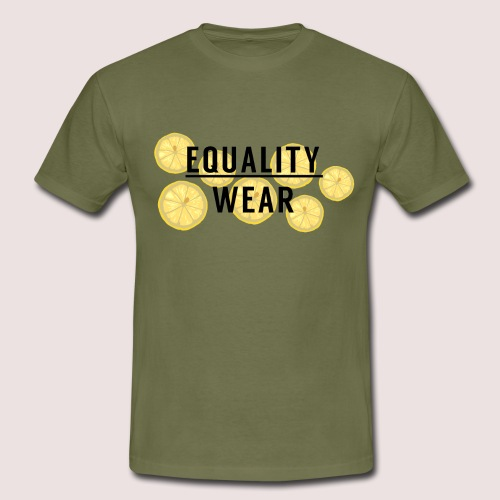 Equality Wear Fresh Lemon Edition - Men's T-Shirt