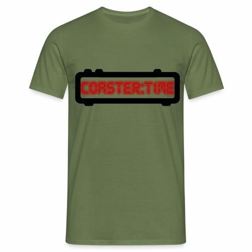 Coaster Time Schwarz - ParkTube - Männer T-Shirt