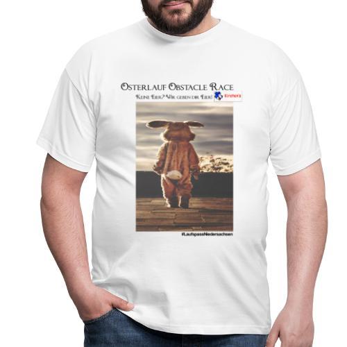 Osterlauf Obstacle Race - Männer T-Shirt