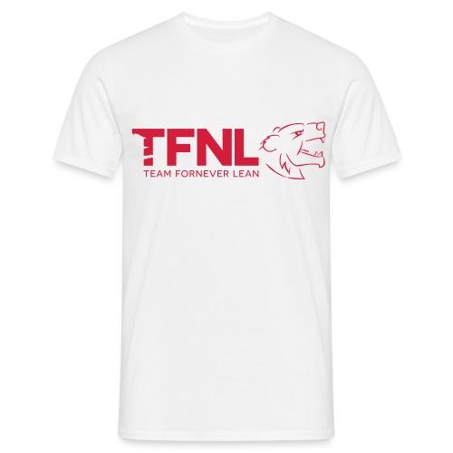 TFNL Red/Navy Logo Tee - Men's T-Shirt