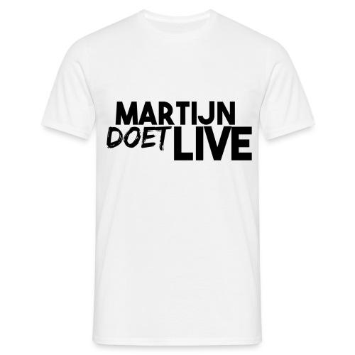MartijnDoetLive - Mannen T-shirt