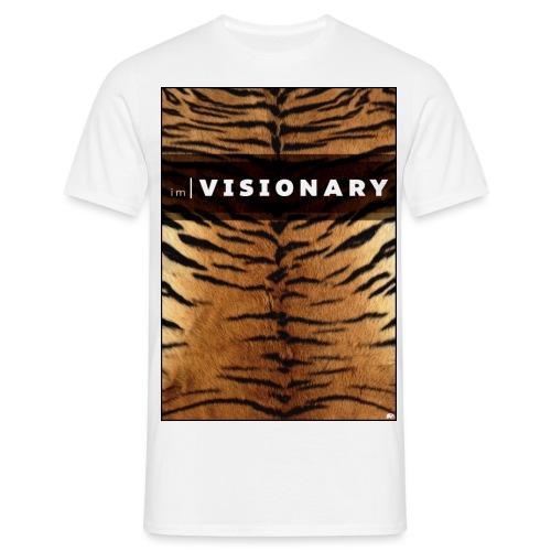 PRTCTANIMAL - Tiger   Im visionary - Men's T-Shirt