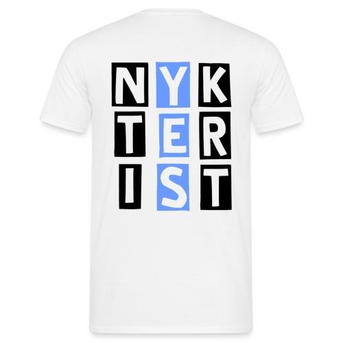 Nykterist Yes Invers - T-shirt herr