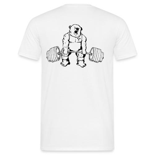 gjennomsiktigbakgrunnbjrn - T-skjorte for menn