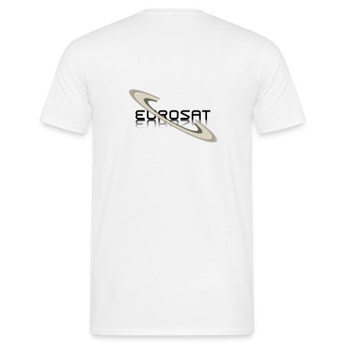 Eurosat Logo - Männer T-Shirt