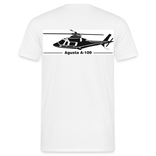 agusta a109 - Männer T-Shirt