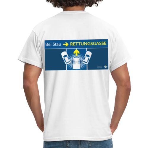 Rettungsgasse - Männer T-Shirt