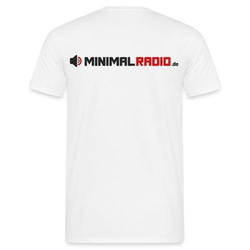 MINIMALRADIO DE Schriftzug - Männer T-Shirt