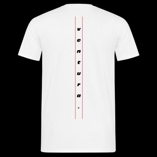 Ventura Back Logo - Mannen T-shirt