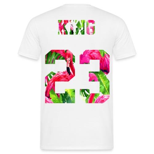 KING 23 FLAMINGO - Männer T-Shirt
