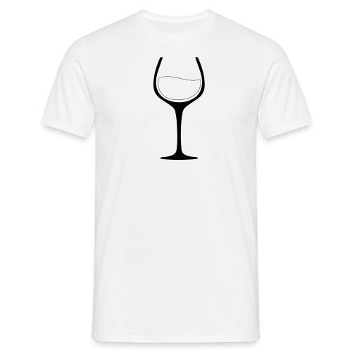 Lust auf Wein? - Männer T-Shirt