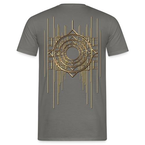 Abstract & Geometric - Gold Metal - Men's T-Shirt