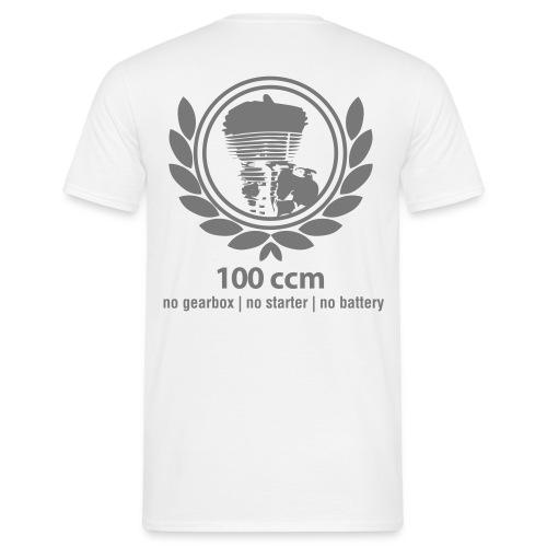 100ccm Logo - Männer T-Shirt