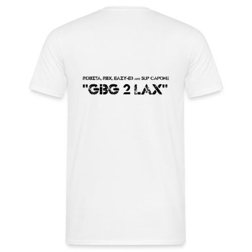 GBG2LAX LOGO seethrough png - T-shirt herr