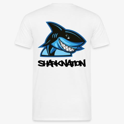 SHARKNATION / Black Letters - Männer T-Shirt