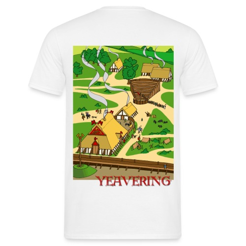 Yeavering Anglo-Saxon Palace - Men's T-Shirt