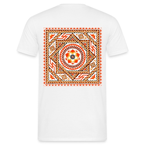 Lower Basildon Roman Mosaic - Men's T-Shirt