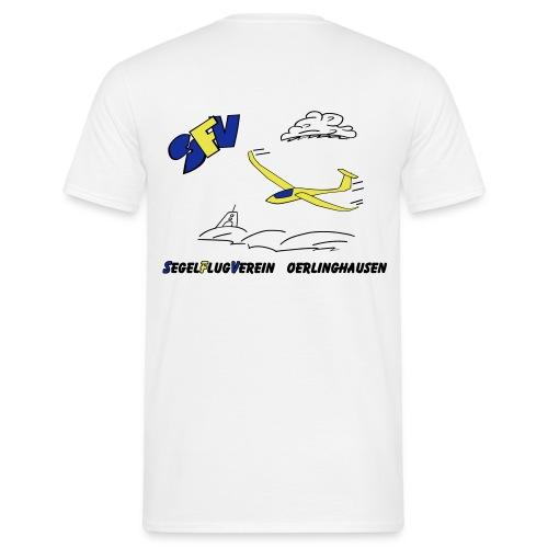 SFVOE - Logo - schwarz - Männer T-Shirt