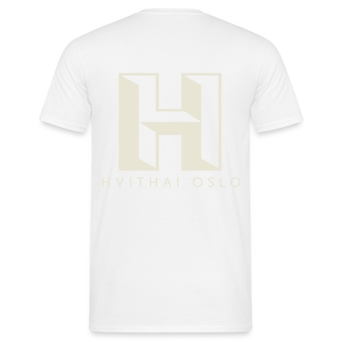 H logo - T-skjorte for menn