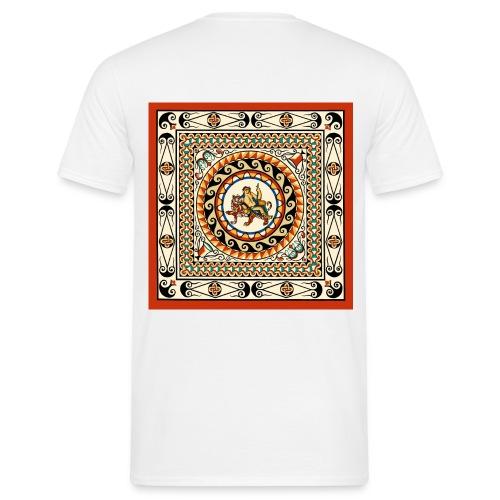 Leadenhall Hall Street Roman Mosaic London - Men's T-Shirt