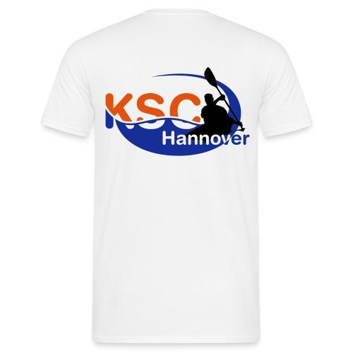 KSC Logo 3-farbig - Männer T-Shirt