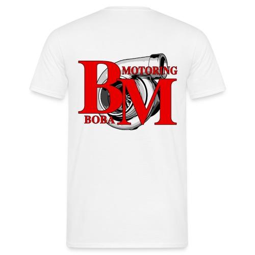 Boba-Motoring Fan Logo - Männer T-Shirt