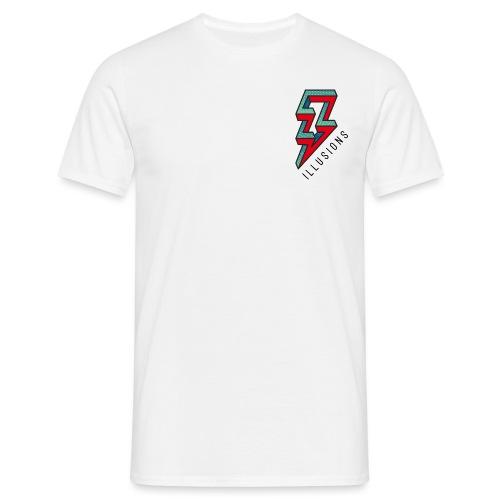 ♂ Lightning - Männer T-Shirt