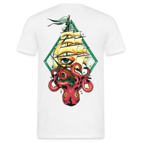 nadelwelt transparent logo - Männer T-Shirt