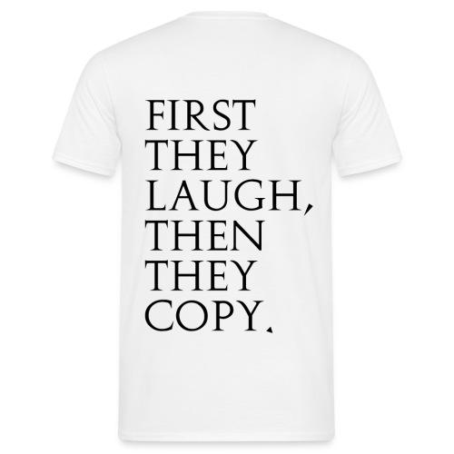 hate png - Männer T-Shirt