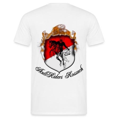 skullridersrossachschwarz - Männer T-Shirt