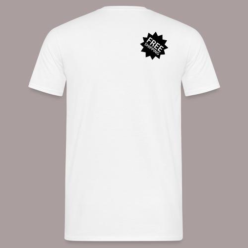 Free Shipping - Männer T-Shirt