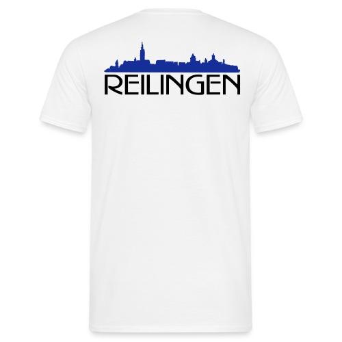 Reilinger Ortsshilhouette - Männer T-Shirt