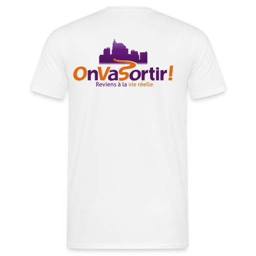 Logo OnVaSortir! - T-shirt Homme